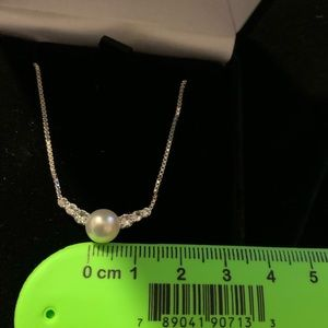 Blue Lagoon Pearl Necklace